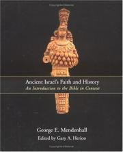 Cover of: Ancient Israel