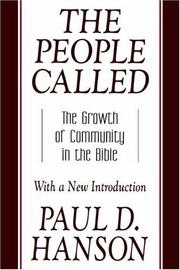 Cover of: people called | Paul D. Hanson