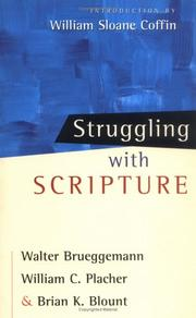 Cover of: Struggling With Scripture