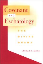 Cover of: Covenant and eschatology