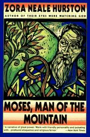Cover of: Moses, man of the mountain