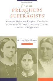 Cover of: From preachers to suffragists | Beverly Ann Zink-Sawyer