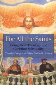 Cover of: For All the Saints | Alister McGrath