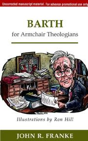 Cover of: Barth for Armchair Theologians | John R. Franke