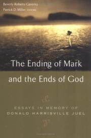 Cover of: The Ending Of Mark And The Ends Of God |