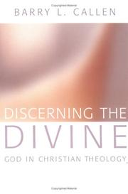 Cover of: Discerning the Divine: God in Christian Theology