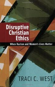 Cover of: Disruptive Christian ethics