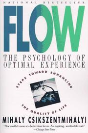 Cover of: Flow | Mihaly Csikszentmihalyi
