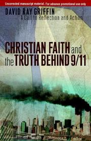Cover of: Christian Faith and the Truth Behind 9/11: A Call to Reflection and Action