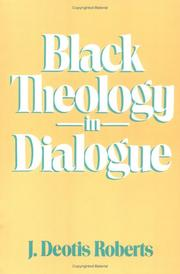 Cover of: Black theology in dialogue