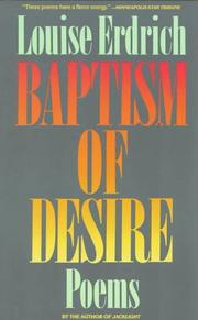 Cover of: Baptism of Desire: Poems