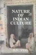 Cover of: Nature of Indian culture