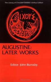Cover of: Augustine | John Burnaby