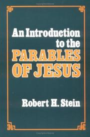 Cover of: An introduction to the parables of Jesus