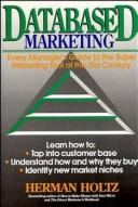 Cover of: Databased marketing