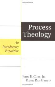 Cover of: Process Theology: An Introductory Exposition