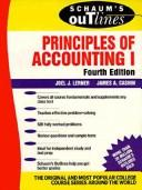 Cover of: Schaum's outline of theory and problems of principles of accounting I