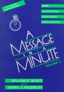Cover of: A message in a minute