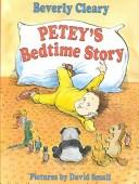 Cover of: Petey's bedtime story