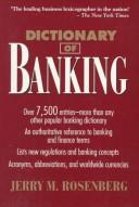 Cover of: Dictionary of banking: Dictionary of banking with Chinese translation