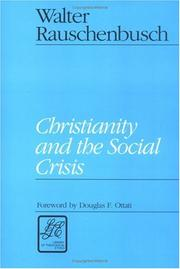 Cover of: Christianity and the social crisis