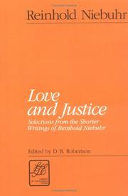 Cover of: Love and justice