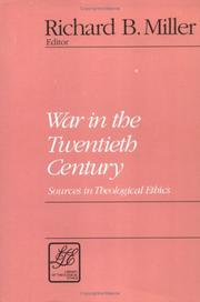 Cover of: War in the 20th Century