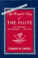 Cover of: My complete story of the flute