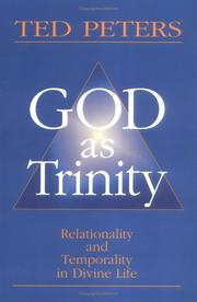 Cover of: God as Trinity