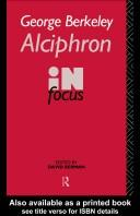 Cover of: Alciphron, or, The minute philosopher