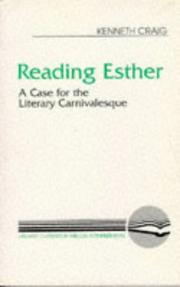 Cover of: Reading Esther