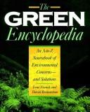 Cover of: The green encyclopedia | Irene M. Franck