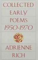 Cover of: Collected early poems, 1950-1970