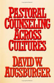Cover of: Pastoral Counseling Across Cultures