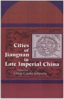 Cover of: Cities of Jiangnan in late imperial China |
