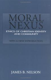 Cover of: Moral nexus