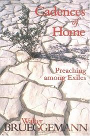 Cover of: Cadences of home: preaching among exiles