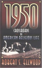 Cover of: 1950, crossroads of American religious life