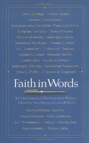 Cover of: Faith in words