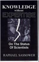 Cover of: Knowledge without expertise