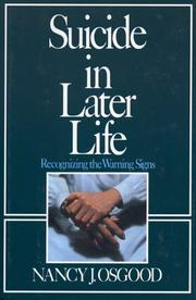 Cover of: Suicide in later life