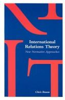 Cover of: International relations theory | Brown, Chris