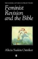 Cover of: Feminist revision and the Bible
