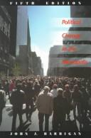 Cover of: Political change in the metropolis