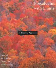 Cover of: Precalculus with limits | Ron Larson