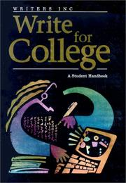 Cover of: Writers Inc