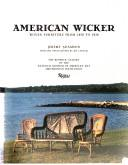Cover of: American Wicker