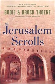 Cover of: The Jerusalem scrolls