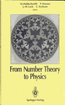 Cover of: From number theory to physics |