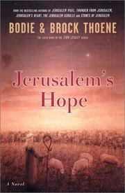 Cover of: Jerusalem's hope